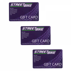Streetbike Gift Cards
