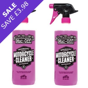 Muc-Off Nanotech Motorcycle Cleaner 2L (2x1L) OFFER