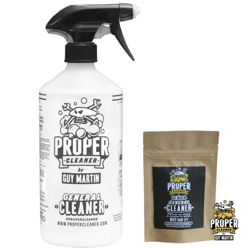 Motorcycle Cleaner Starter Pack - Makes 1.5 litres!